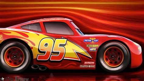 Cars 3 Character Lightning Mcqueen, Voiced By Owen Wilson