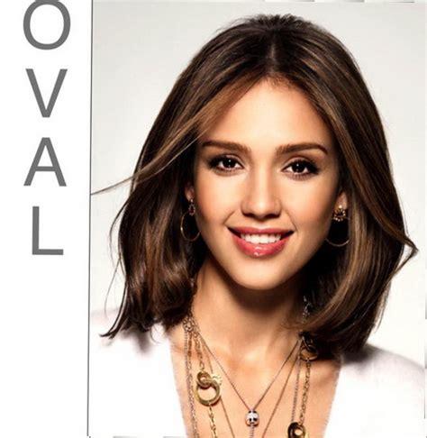medium length haircuts  oval faces