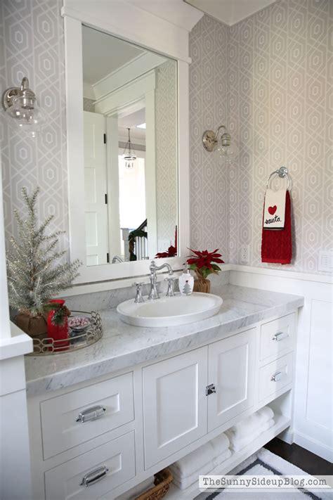 christmas powder bathroom  days  holiday homes