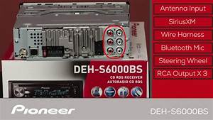 Deh-s6000bs - What U0026 39 S In The Box