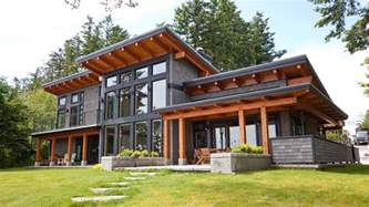stunning west coast homes modern beachfront timber frame island timber frame