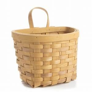Chipwood wall basket decor home