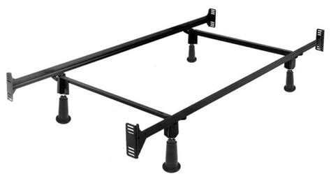 Bed Frame With Footboard Brackets by Size High Rise Metal Bed Frame With Headboard And