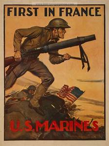 Examples of Propaganda from WW1 | WW1 Marine Posters Page 8