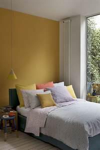 Deco Jaune Moutarde : chambre jaune moutarde les coloris associer ~ Melissatoandfro.com Idées de Décoration