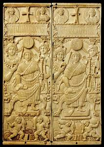 The Symmachi Panel, about 400 AD - Victoria and Albert Museum