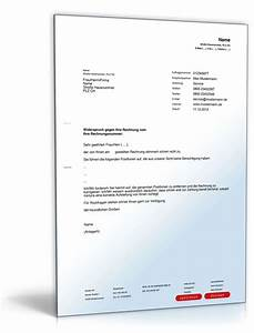 Widerspruch Rechnung Frist : widerspruch einer rechnung musterbrief zum download ~ Themetempest.com Abrechnung
