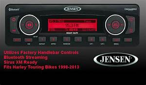 Jensen Plug N Play Stereo Upgrade For Harley Touring