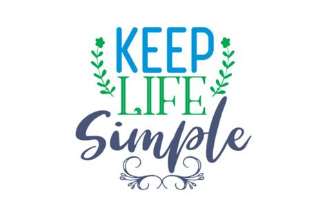 You have to fight through some bad days to earn the best days of your life. Keep life simple Quote SVG Cut Graphic by TheLucky - Creative Fabrica