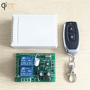 433mhz Universal Wireless Remote Control Switch Ac 85v
