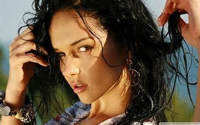 Brunette Wet Wallpapers Candy Eye Woman Female