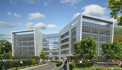 Microsoft Building Dublin Ireland Campus Construction Center