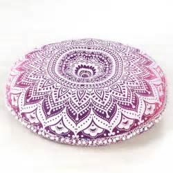 pink mandala bohemian hippie floor pillow cushion cover mandala throw 32 quot mandala floor