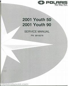 2001 Polaris Scrambler 50 90 Sportsman 90 Service Manual