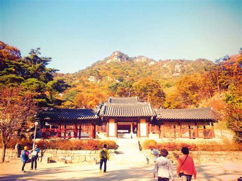 wallpaper pemandangan indah  korea gratis