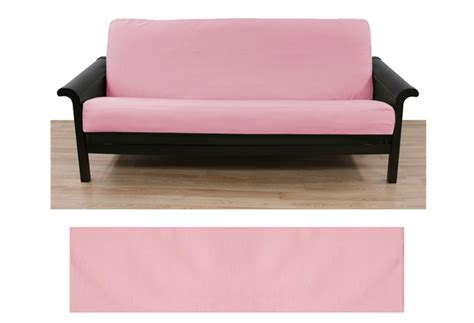 light pink futon cover solid light pink futon cover buy from manufacturer and save