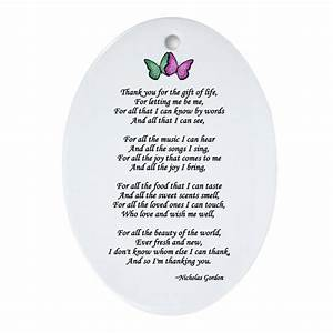 Gift of Life Poem Oval Ornament by donorawareness