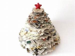 Upcycling Ideen Papier : upcycling weihnachtsbaum aus alten zeitungen prinz eisenherz weihnachtsbaum weihnachten und ~ Eleganceandgraceweddings.com Haus und Dekorationen
