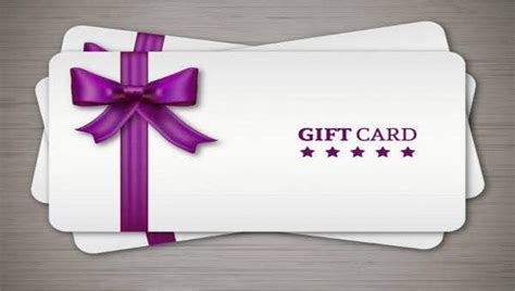 gift cards  psd vector ai eps format