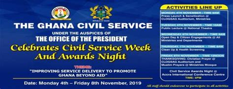 office   head  civil service loyalty excellence