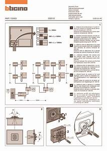 Bticino Wiring Diagrams