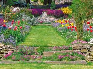 Refaire Son Jardin Gratuitement : am nager un jardin escarp ~ Premium-room.com Idées de Décoration
