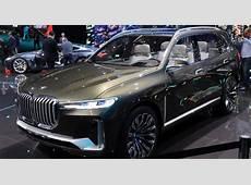 BMW X7 Concept un futur SUV sept places à Munich