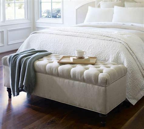 banc pour chambre à coucher 40 idées pour le bout de lit coffre en images