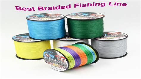 Top 5 Best Braided Fishing Line Reviews,2017 Youtube