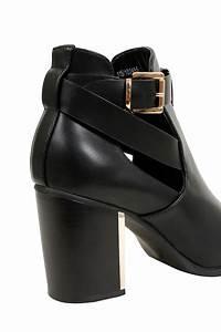 Document A Garder : bottines talons ouverture cheville noir pieds larges e ~ Gottalentnigeria.com Avis de Voitures