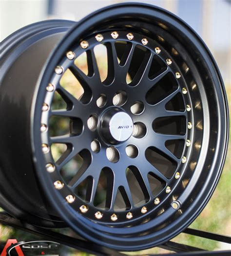 black   avid wheel av   rim scion xb vw