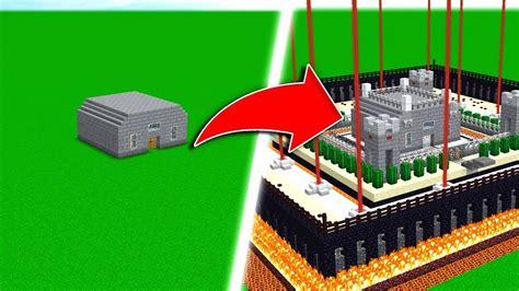 steps  build  safest minecraft house youtube