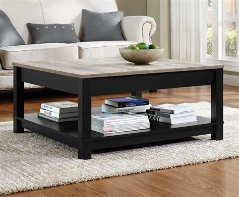 sonoma oak coffee table dorel carver black sonoma oak coffee table