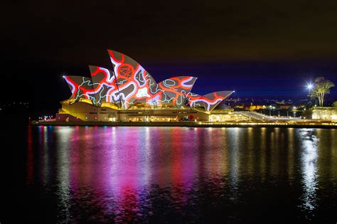 photos sydney s stunning festival lights up the