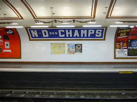 Notredamedeschamps (paris Métro) Wikipedia