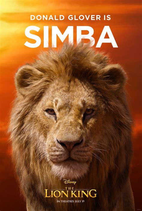 character posters tv spot  disneys  lion king