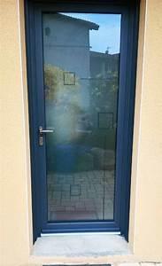 jade une porte dentree vitree en alu pour les maisons With portes d entrée vitrées en aluminium