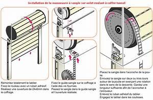 Changer Manivelle Volet Roulant : volet roulant sangle changer la sangle courroie et l ~ Dailycaller-alerts.com Idées de Décoration