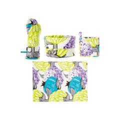 foto de Capsicum Set de accesorios de cocina de Algodón Azul
