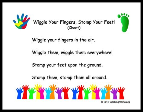10 preschool transitions songs and chants to help your 590 | WiggleYourFingersPic 1024x800