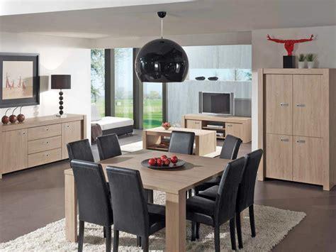 cuisine carree salle a manger complète conforama table carrée meuble et