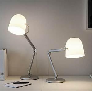 Bureau Design Ikea : comment choisir votre lampe de bureau design alin a leroy merlin ~ Teatrodelosmanantiales.com Idées de Décoration