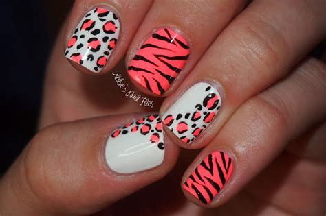 Animal print nail designs   Yve Style   Yve Style
