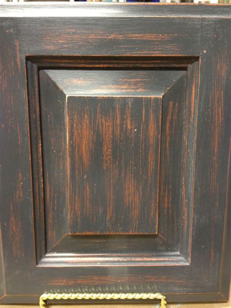 Cabinet door makeover painted with Chalk Paint® in