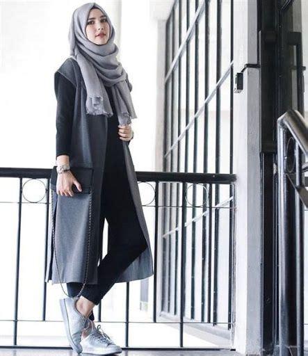 abaya maxi terbaru fashion wanita trend model busana casual remaja terbaru 2016 2017