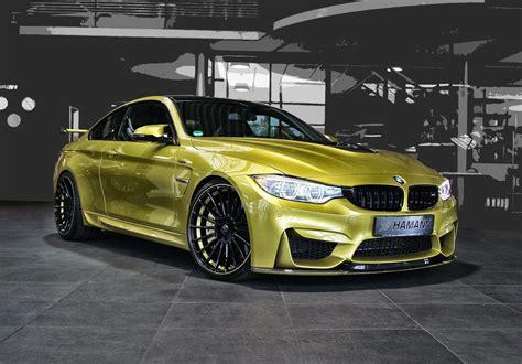2018 Bmw M4 By Hamann Front Photo Austin Yellow Paint