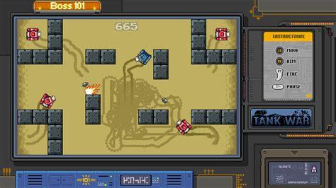 Boss 101 Arcade Machine, Tank War Image