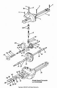 Mtd 13am47gf062  1998  Parts Diagram For Transaxle