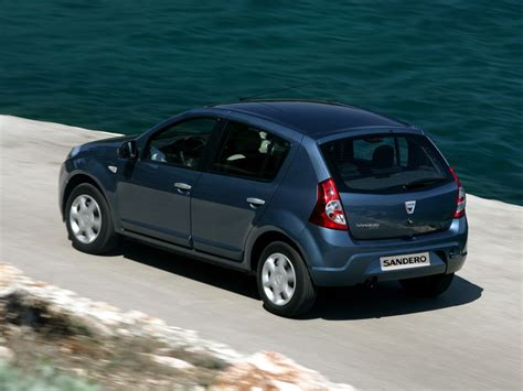 Dacia Sandero Al Volante Dacia Sandero 2008 Econom 237 A Al Volante