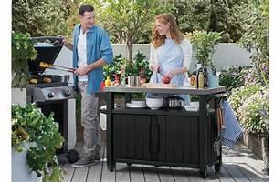 Keter Grill Beistelltisch : unity xl outdoor prep table entertainment storage unit keter ~ Whattoseeinmadrid.com Haus und Dekorationen